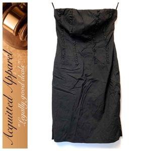 J. Crew   Little Black Dress Strapless Ruffle